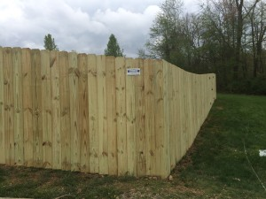 Fence installed this week in Fairview, Tn and Tollgate village Thompsons Station, TN