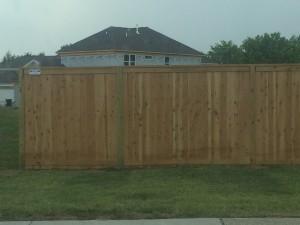 Franklin tn fence cedar and treated pine table top fence
